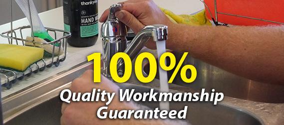 100% Quality Workmanship